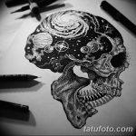 фото эскизы для тату космос от 26.09.2017 №007 - sketches for tattoo space - tatufoto.com