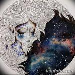 фото эскизы для тату космос от 26.09.2017 №008 - sketches for tattoo space - tatufoto.com