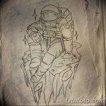 фото эскизы для тату космос от 26.09.2017 №015 - sketches for tattoo space - tatufoto.com