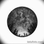 фото эскизы для тату космос от 26.09.2017 №018 - sketches for tattoo space - tatufoto.com