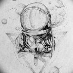 фото эскизы для тату космос от 26.09.2017 №021 - sketches for tattoo space - tatufoto.com