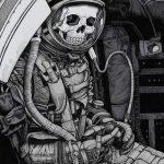 фото эскизы для тату космос от 26.09.2017 №023 - sketches for tattoo space - tatufoto.com
