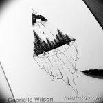фото эскизы для тату космос от 26.09.2017 №026 - sketches for tattoo space - tatufoto.com