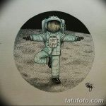 фото эскизы для тату космос от 26.09.2017 №027 - sketches for tattoo space - tatufoto.com