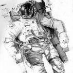 фото эскизы для тату космос от 26.09.2017 №030 - sketches for tattoo space - tatufoto.com