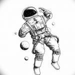 фото эскизы для тату космос от 26.09.2017 №031 - sketches for tattoo space - tatufoto.com