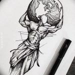 фото эскизы для тату космос от 26.09.2017 №033 - sketches for tattoo space - tatufoto.com