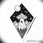 фото эскизы для тату космос от 26.09.2017 №035 - sketches for tattoo space - tatufoto.com