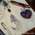 фото эскизы для тату космос от 26.09.2017 №037 - sketches for tattoo space - tatufoto.com