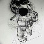 фото эскизы для тату космос от 26.09.2017 №039 - sketches for tattoo space - tatufoto.com