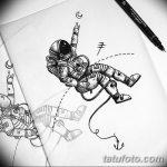 фото эскизы для тату космос от 26.09.2017 №047 - sketches for tattoo space - tatufoto.com