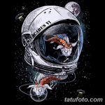 фото эскизы для тату космос от 26.09.2017 №051 - sketches for tattoo space - tatufoto.com