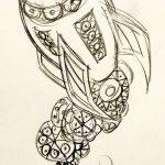 фото эскизы для тату космос от 26.09.2017 №053 - sketches for tattoo space - tatufoto.com
