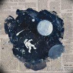 фото эскизы для тату космос от 26.09.2017 №059 - sketches for tattoo space - tatufoto.com