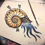 фото эскизы для тату космос от 26.09.2017 №060 - sketches for tattoo space - tatufoto.com