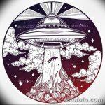 фото эскизы для тату космос от 26.09.2017 №061 - sketches for tattoo space - tatufoto.com
