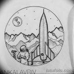 фото эскизы для тату космос от 26.09.2017 №064 - sketches for tattoo space - tatufoto.com