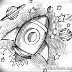 фото эскизы для тату космос от 26.09.2017 №069 - sketches for tattoo space - tatufoto.com