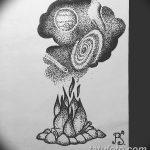 фото эскизы для тату космос от 26.09.2017 №071 - sketches for tattoo space - tatufoto.com
