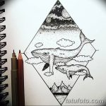 фото эскизы для тату космос от 26.09.2017 №072 - sketches for tattoo space - tatufoto.com