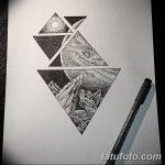 фото эскизы для тату космос от 26.09.2017 №075 - sketches for tattoo space - tatufoto.com