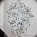 фото эскизы для тату космос от 26.09.2017 №081 - sketches for tattoo space - tatufoto.com