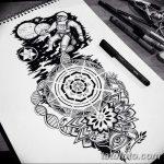 фото эскизы для тату космос от 26.09.2017 №088 - sketches for tattoo space - tatufoto.com