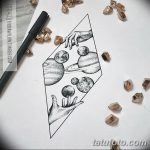 фото эскизы для тату космос от 26.09.2017 №089 - sketches for tattoo space - tatufoto.com