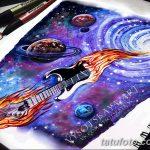 фото эскизы для тату космос от 26.09.2017 №091 - sketches for tattoo space - tatufoto.com