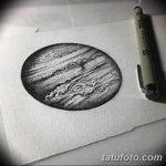 фото эскиз тату юпитер от 26.09.2017 №003 - sketch of tattoo jupiter - tatufoto.com
