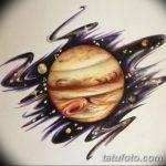 фото эскиз тату юпитер от 26.09.2017 №010 - sketch of tattoo jupiter - tatufoto.com