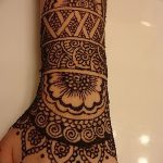 фото Мехенди на предплечье от 28.10.2017 №013 - Mehendi on the forearm - tatufoto.com