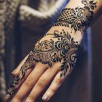 фото Мехенди на предплечье от 28.10.2017 №025 - Mehendi on the forearm - tatufoto.com