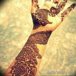 фото Мехенди на предплечье от 28.10.2017 №033 - Mehendi on the forearm - tatufoto.com