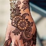 фото Мехенди на предплечье от 28.10.2017 №039 - Mehendi on the forearm - tatufoto.com