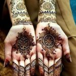 фото Мехенди на предплечье от 28.10.2017 №057 - Mehendi on the forearm - tatufoto.com