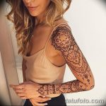фото Мехенди на предплечье от 28.10.2017 №059 - Mehendi on the forearm - tatufoto.com