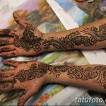 фото Мехенди на предплечье от 28.10.2017 №065 - Mehendi on the forearm - tatufoto.com
