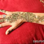 фото Мехенди на предплечье от 28.10.2017 №069 - Mehendi on the forearm - tatufoto.com
