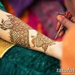 фото Мехенди на предплечье от 28.10.2017 №071 - Mehendi on the forearm - tatufoto.com