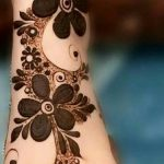 фото Мехенди на предплечье от 28.10.2017 №097 - Mehendi on the forearm - tatufoto.com