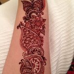 фото Мехенди на предплечье от 28.10.2017 №110 - Mehendi on the forearm - tatufoto.com