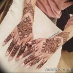 фото Мехенди на предплечье от 28.10.2017 №117 - Mehendi on the forearm - tatufoto.com