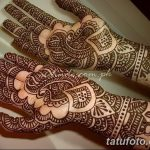 фото Мехенди на предплечье от 28.10.2017 №124 - Mehendi on the forearm - tatufoto.com