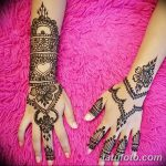 фото Мехенди на предплечье от 28.10.2017 №132 - Mehendi on the forearm - tatufoto.com