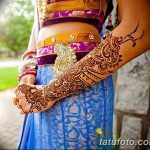 фото Мехенди на предплечье от 28.10.2017 №139 - Mehendi on the forearm - tatufoto.com