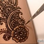 фото Мехенди на предплечье от 28.10.2017 №140 - Mehendi on the forearm - tatufoto.com