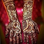 фото Мехенди на предплечье от 28.10.2017 №145 - Mehendi on the forearm - tatufoto.com