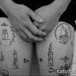 фото Самодельные тату (хэндпоук - Handpoke tattoo) от 27.10.2017 №005 - tatufoto.com