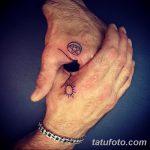 фото Самодельные тату (хэндпоук - Handpoke tattoo) от 27.10.2017 №047 - tatufoto.com